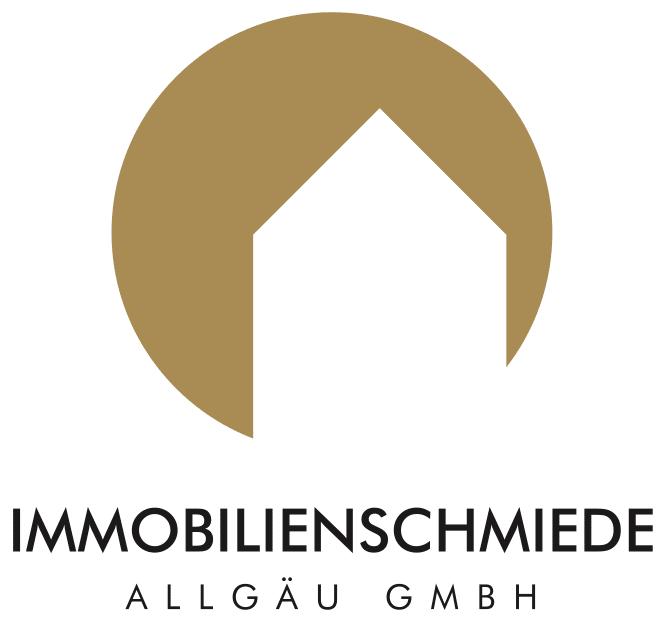Immobilienschmiede Allgäu Logo Gold