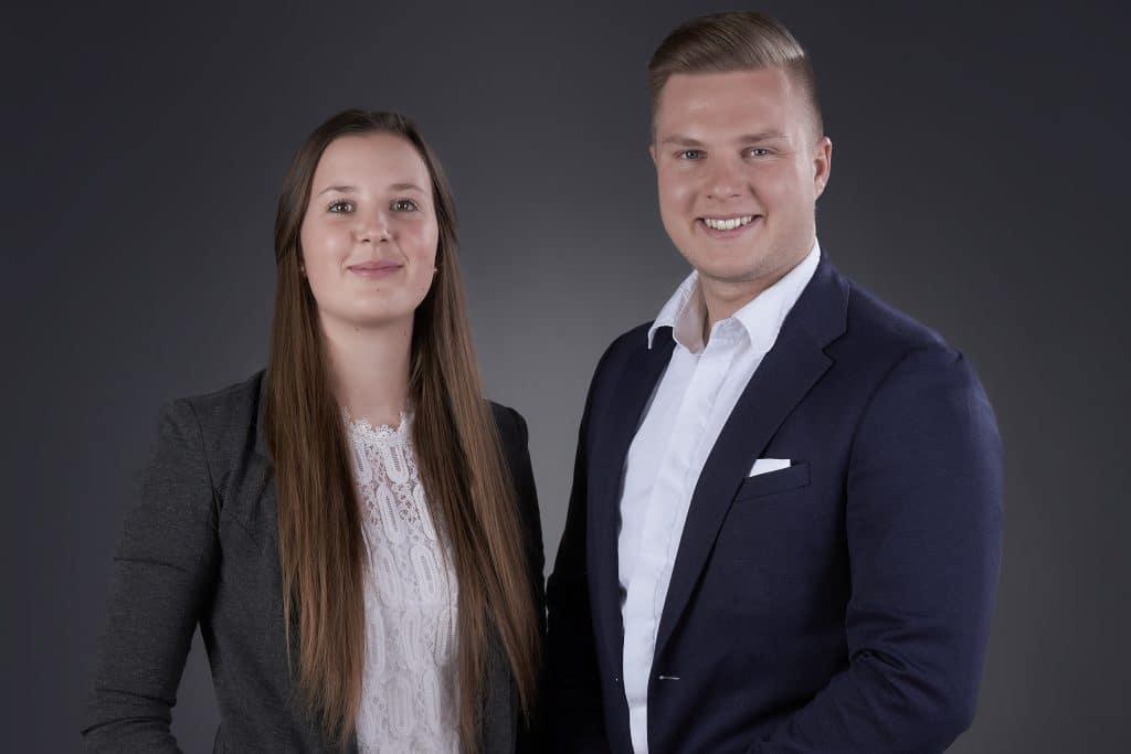 Felix Sach und Viktoria Bader - ein starkes Team für Ihre Immobilie