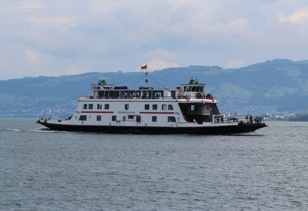 Schiffsverbindung Friedrichshafen